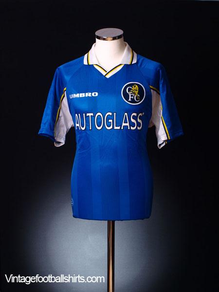 1997-99 Chelsea Home Shirt M