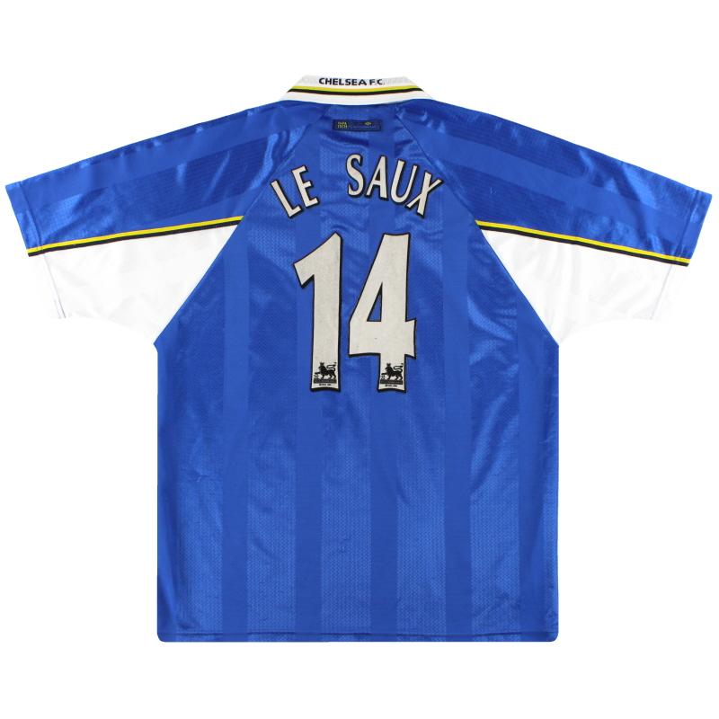 1997-99 Chelsea Umbro Home Shirt Le Saux #14 XL