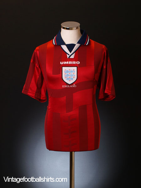 1997-99 England Away Shirt M