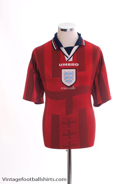 1997-99 England Away Shirt XXL