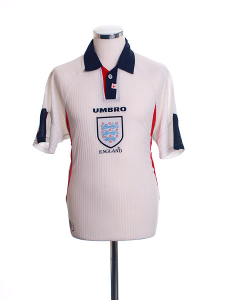 1997-99 England Home Shirt M