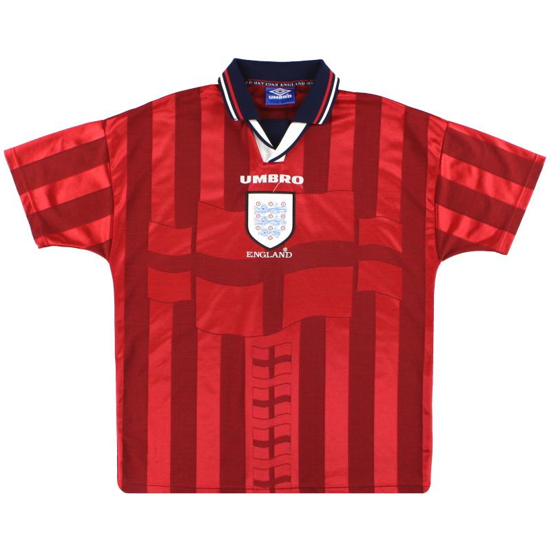 1997-99 England Umbro Away Shirt XXL - 735010