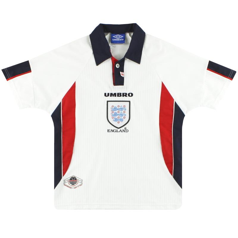 1997-99 England Umbro Home Shirt Y
