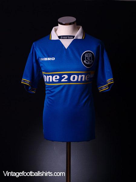 1997-99 Everton Home Shirt XL