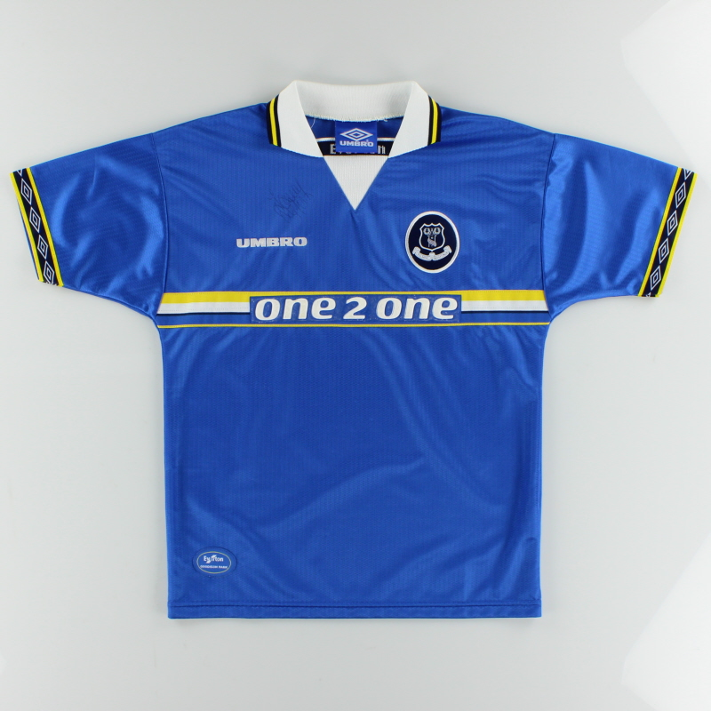 1997-99 Everton Home Shirt Y