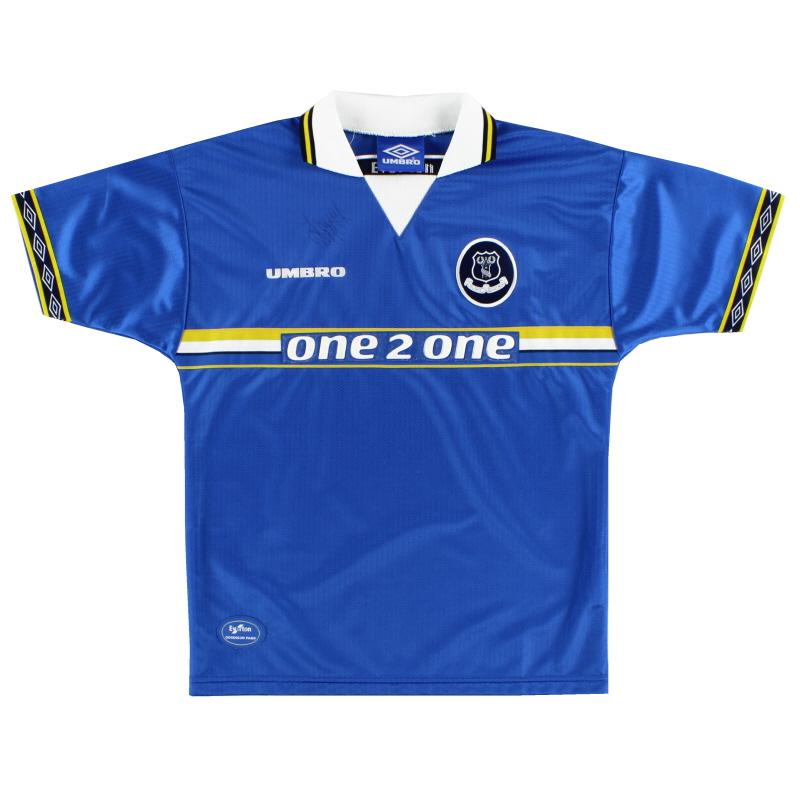 1997-99 Everton Home Shirt Y