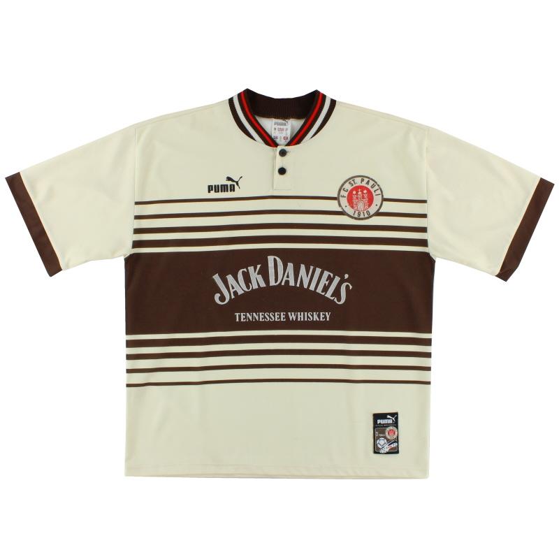 1997-99 FC St. Pauli Home Shirt XL