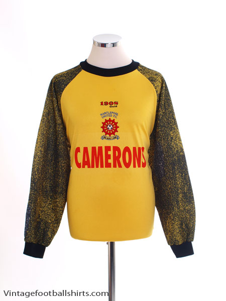 1997-99 Hartlepool Goalkeeper Shirt M
