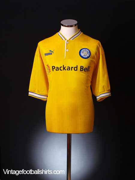 1997-99 Leeds Away Shirt *As New* M