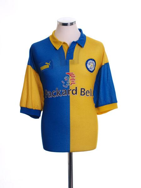 1997-99 Leeds Away Shirt XXL