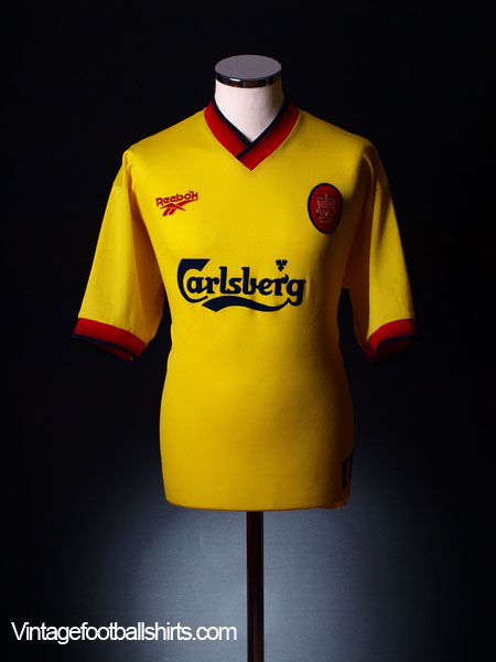 1997-99 Liverpool Away Shirt L