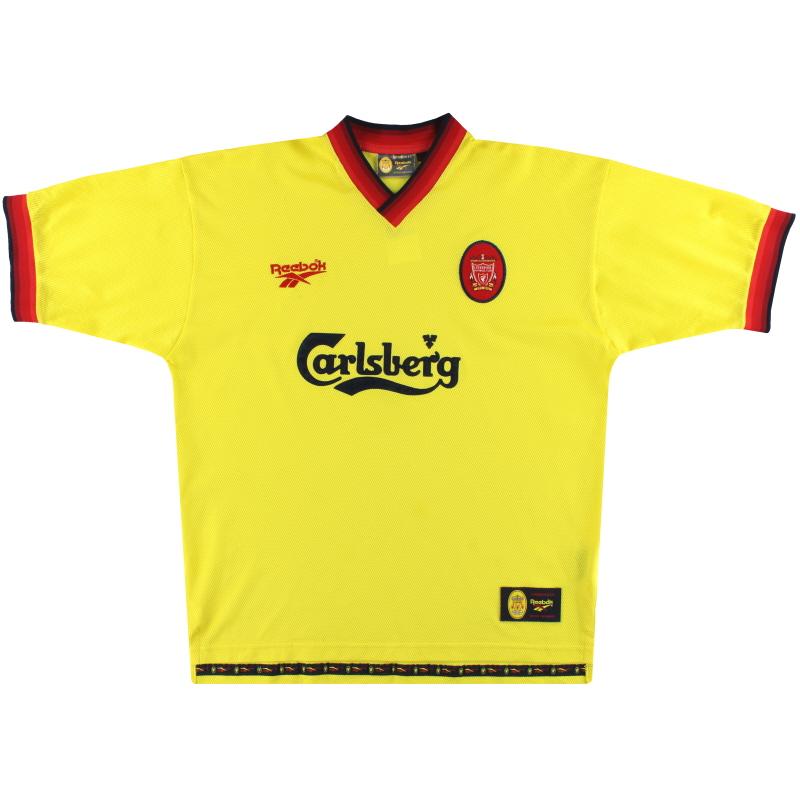 1997-99 Liverpool Reebok Away Shirt M