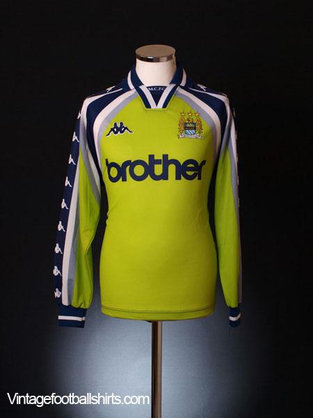 1997-99 Manchester City Goalkeeper Shirt M