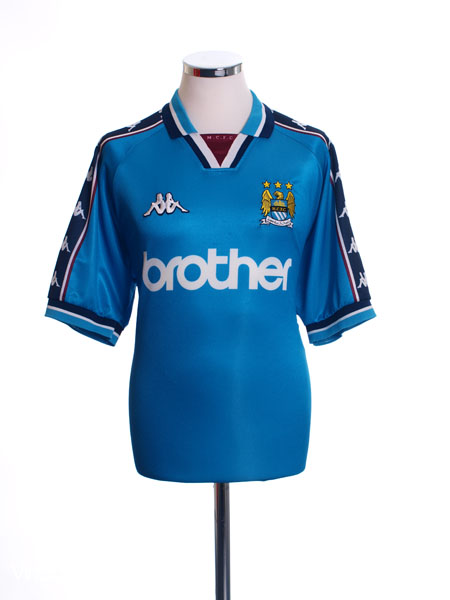 1997-99 Manchester City Home Shirt M