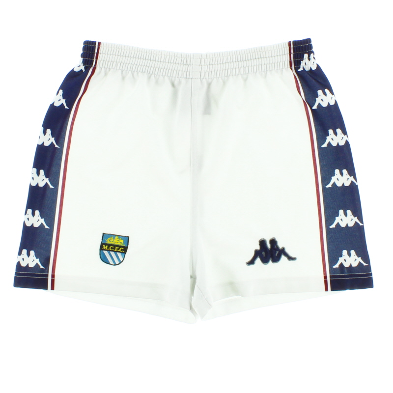 1997-99 Manchester City Home Shorts S