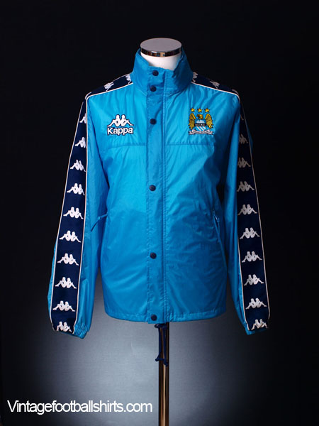 443a57545 1997-99 Manchester City Kappa Rain Jacket S for sale
