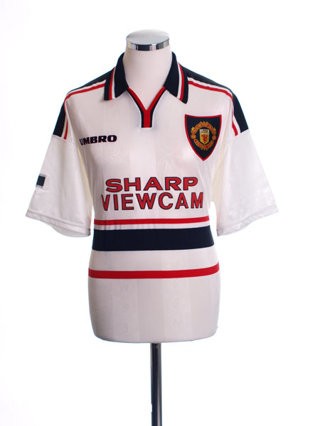 1997-99 Manchester United Away Shirt L