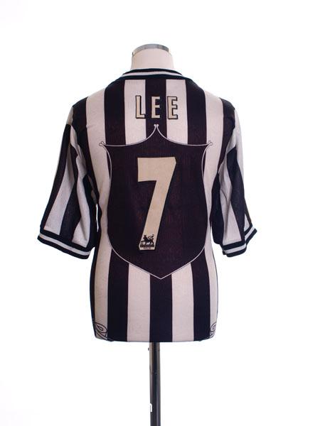 1997-99 Newcastle Home Shirt Lee #7 L
