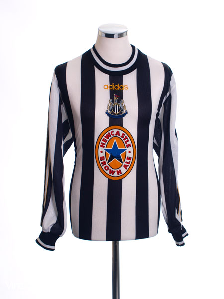 1997-99 Newcastle Home Shirt L/S *Mint* M