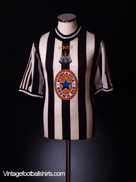 d9ceba09655 1997-99 Newcastle Home Shirt Shearer  9 XL for sale