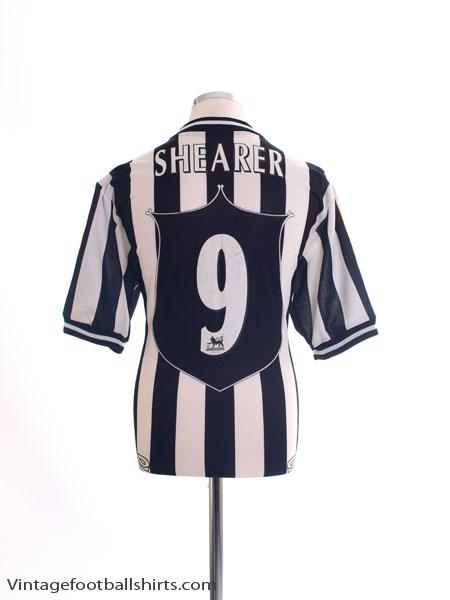 1997-99 Newcastle Home Shirt Shearer #9 L