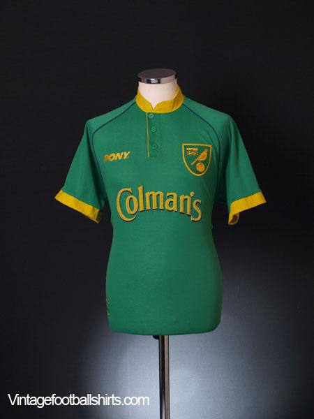 1997-99 Norwich City Away Shirt M