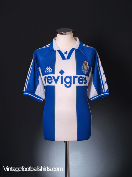1997-99 Porto Home Shirt L
