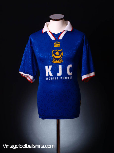 1997-99 Portsmouth Home Shirt M