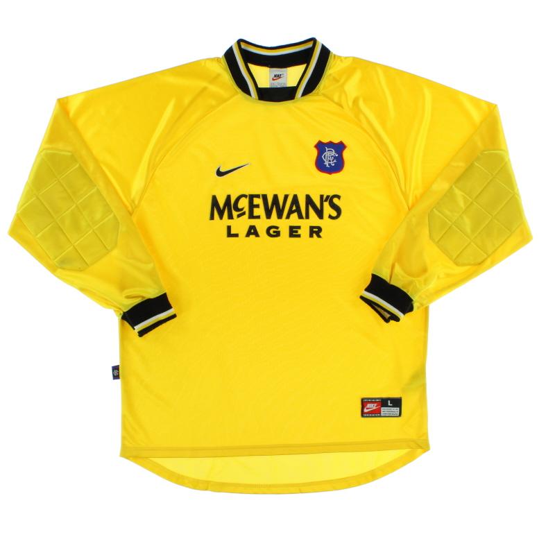 1997-99 Rangers Goalkeeper Shirt L