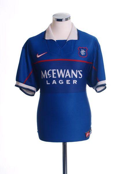 1997-99 Rangers Home Shirt L