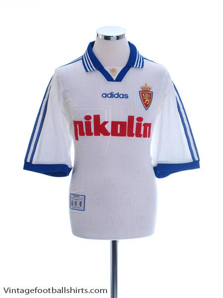 1997-99 Real Zaragoza Home Shirt M