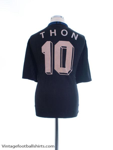 1997-99 Schalke Away Shirt Thon #10 L