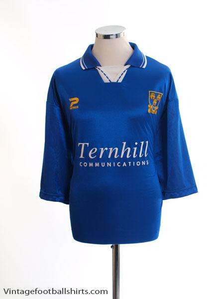 1997-99 Shrewsbury Home Shirt XL