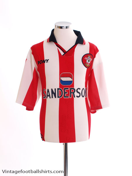 1997-99 Southampton Home Shirt L