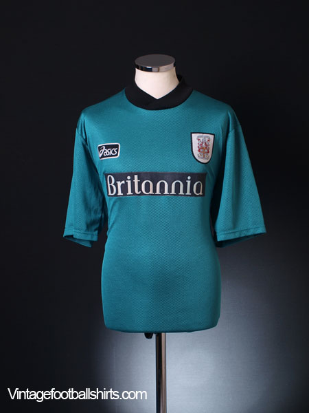 1997-99 Stoke City Away Shirt L