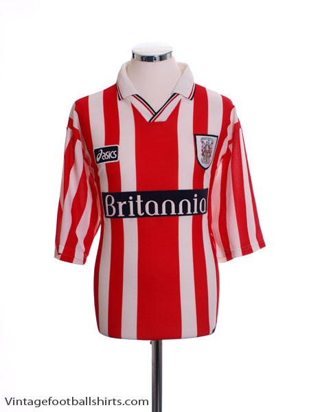 1997-99 Stoke City Home Shirt L