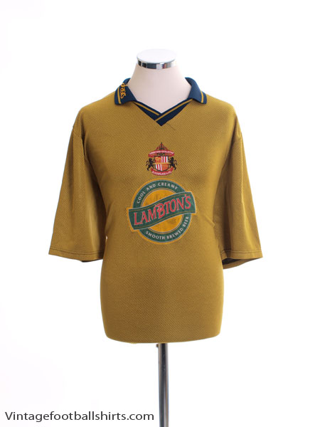 1997-99 Sunderland Away Shirt XL