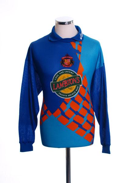 1997-99 Sunderland Goalkeeper Shirt L/S L