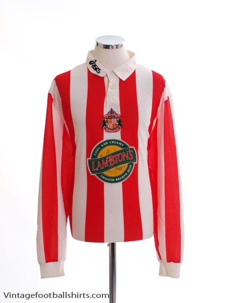 1997-99 Sunderland Home Shirt L/S XXL
