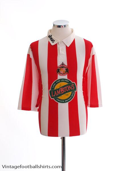 1997-99 Sunderland Home Shirt M