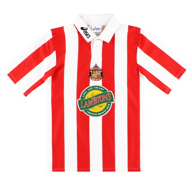 1997-99 Sunderland Asics Home Shirt S