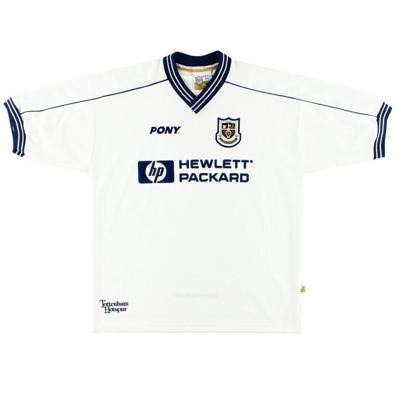 1997-99 Tottenham Home Shirt L