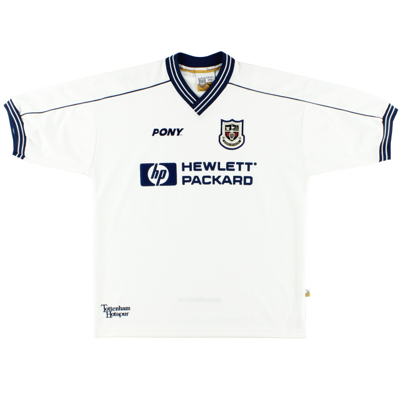 1997-99 Tottenham Pony Home Shirt L