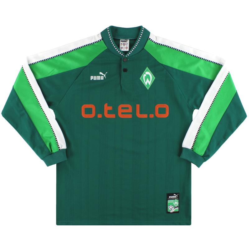 1997-99 Werder Bremen Puma Home Shirt L/S M