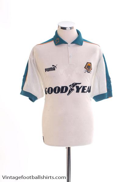 1997-99 Wolves Away Shirt XXL