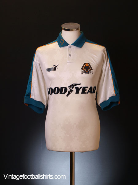 1997-99 Wolves Away Shirt XL