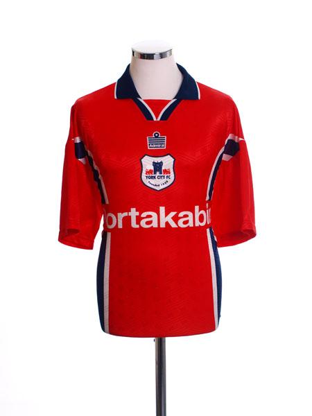 1997-99 York City Home Shirt XL