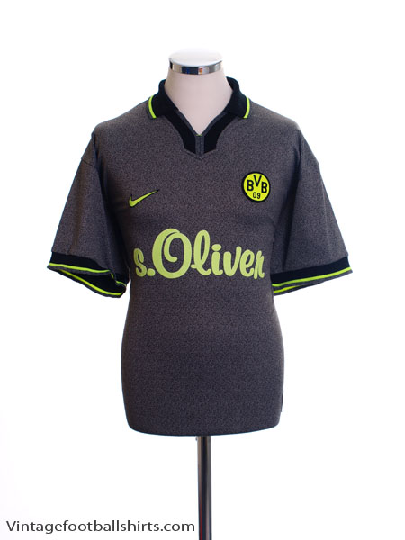 1997-98 Borussia Dortmund Away Shirt L
