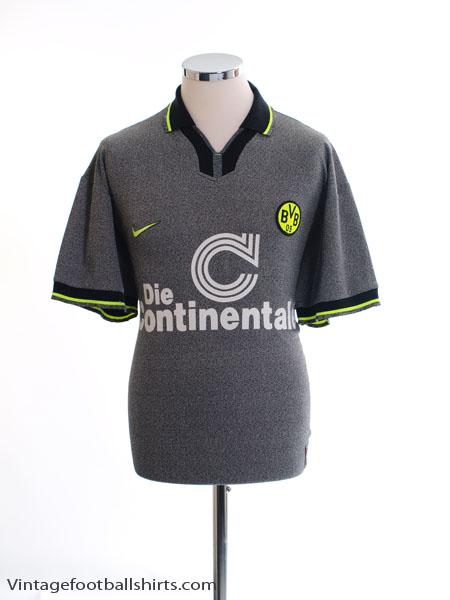1997 Borussia Dortmund Away Shirt L