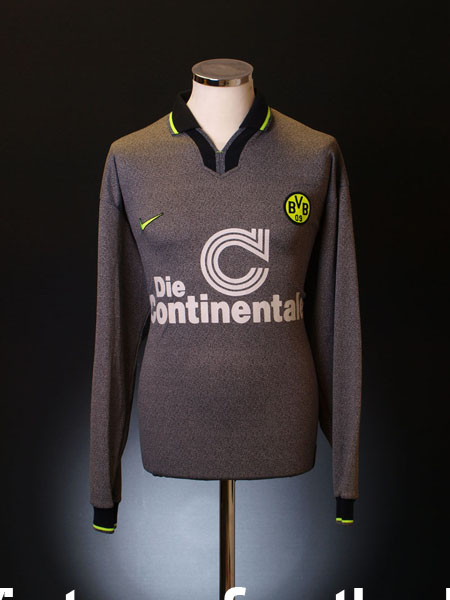 1997 Borussia Dortmund Away Shirt L/S XL